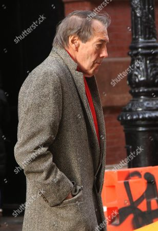 Editorial image of Charlie Rose out and about, New York, USA - 21 Nov 2018