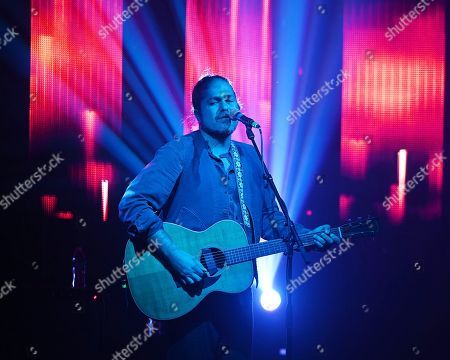 Editorial image of Citizen Cope in concert at The Culture Room, Fort Lauderdale, USA - 21 Nov 2018