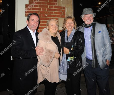 Johnny Ball and wife Dianne with Eric Knowles and wife
