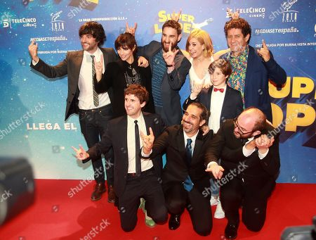 Editorial image of Premiere of Superlopez, Madrid, Spain - 21 Nov 2018