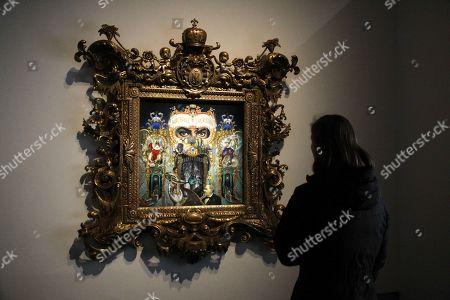 Editorial photo of 'Michael Jackson On the Wall' exhibition, Grand Palais, Paris, France - 21 Nov 2018