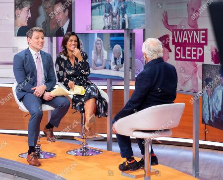 Susanna Reid, Ben Shephard and Wayne Sleep