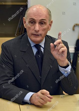 Bernard Ruiz-Picasso, grand-son of Pablo Ruiz Picasso during an interview.