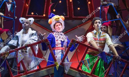 Editorial image of 'Dick Whittington' Pantomime performed at the Lyric Theatre, Hammersmith, London,UK, 22 Nov 2018