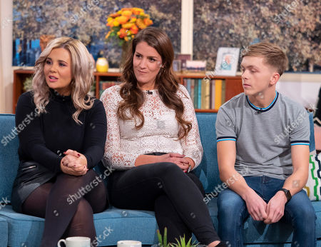 Rebecca Jane, Maddy Anholt and Aiden Dugdale