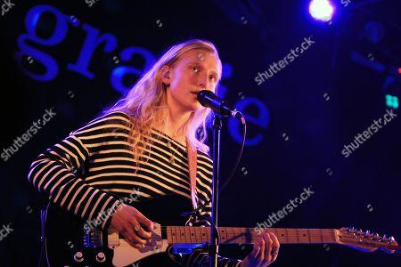 Editorial image of Billie Marten in concert at the Brudenell Social Club, Leeds, UK - 20 Nov 2018