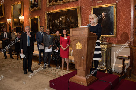 Editorial image of The Queen's Commonwealth Essay Prize, Buckingham Palace, London, UK - 22 Nov 2018