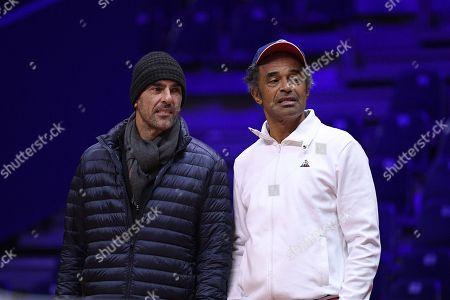 Editorial photo of France v Croatia Draw Ceremony, Davis Cup, Villeneuve-d'Ascq, France - 22 Nov 2018