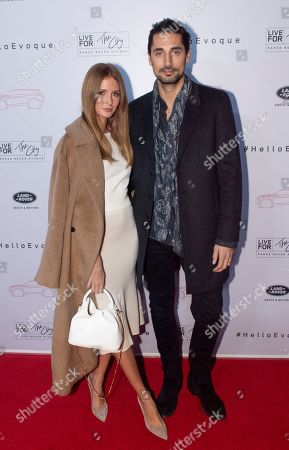 Stock Picture of Millie Mackintosh and Hugo Taylor