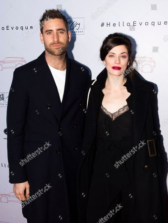Stock Picture of Oliver Jackson-Cohen and Jessica De Gouw