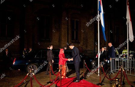 Editorial photo of Singaporen President Halimah Yacob visit to Amsterdam, Netherlands - 22 Nov 2018