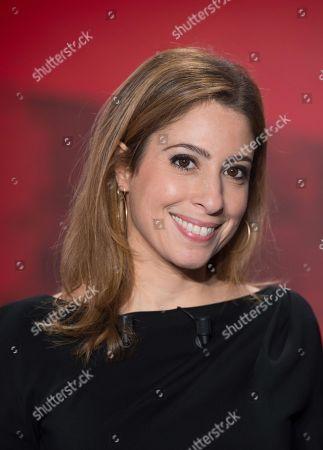 French journalist Lea Salame