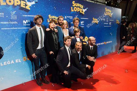 Editorial photo of 'Super Lopez' film premiere, Madrid, Spain - 21 Nov 2018