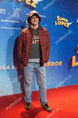 Editorial picture of 'Super Lopez' film premiere, Madrid, Spain - 21 Nov 2018