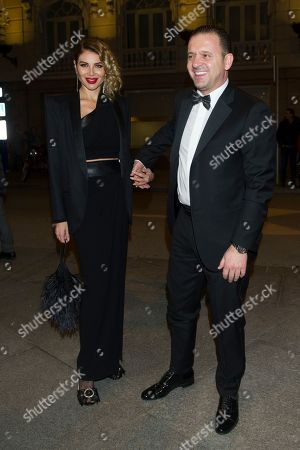 Predrag Mijatovic and Aneta Mijatovic