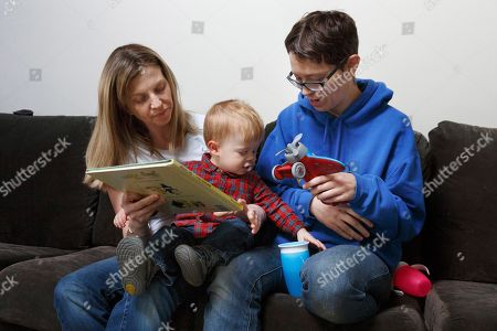 Editorial image of Same-Sex Parents, Narragansett, USA - 16 Nov 2018