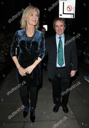 Stock Photo of Diane Davison and Chris de Burgh