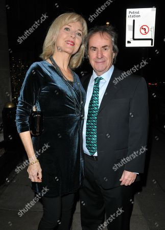 Stock Image of Diane Davison and Chris de Burgh