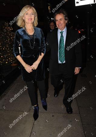 Diane Davison and Chris de Burgh