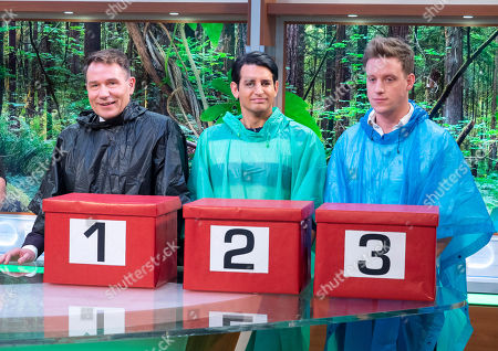 Richard Arnold, Ollie Locke and Gareth Locke