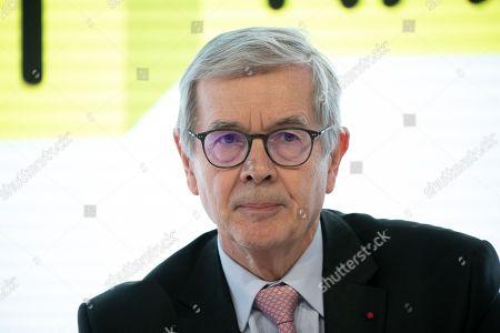Stock Image of Philippe Varin Pdt de France Industrie