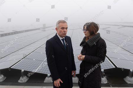 Editorial photo of Francois de Rugy visits the Eau de Paris company, Paris, France - 23 Nov 2018