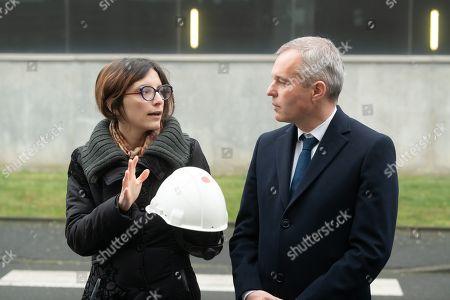 Stock Picture of Celia Blauel and Francois de Rugy