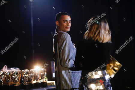 Layton Williams and Lauren Layfield