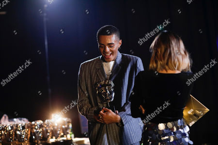 Stock Image of Layton Williams and Lauren Layfield