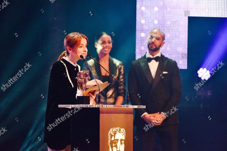 Rosie Day presenting Drama with Rochelle Humes and Marvin Humes