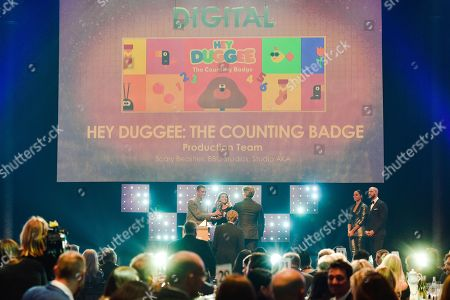 Keith Davidson, Peter Hickman, Phil Hoskins - Digital - 'Hey Duggee: The Counting Badge' presented by Layton Williams and Lauren Layfield