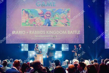 Rufus Hound presenting Game with Rochelle Humes and Marvin Humes