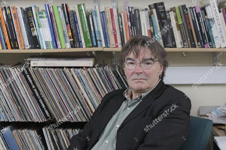 Editorial photo of Professor Simon Frith, Tovey Professor of Music, the University of Edinburgh, Scotland, Britain - 27 Aug 2009