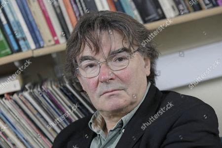 Editorial image of Professor Simon Frith, Tovey Professor of Music, the University of Edinburgh, Scotland, Britain - 27 Aug 2009