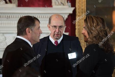 Lord Jonathan Kestenbaum, Michael Ziff and Samantha Simmonds.