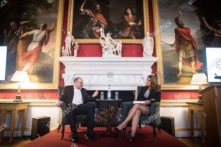 Mark Tucker, Chairman of HSBC, in conversation with Samantha Simmonds.