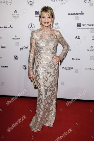German actress Uschi Glas attends the Federal Press Ball (Bundespresseball) in Berlin, Germany, 23 November 2018. The event takes place for the 67th time.