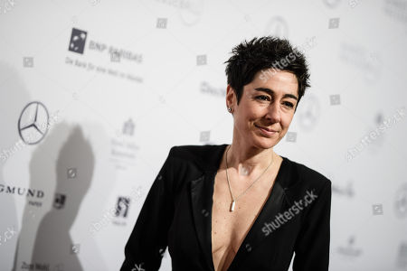 German journalist Dunja Hayali attends the Federal Press Ball (Bundespresseball) in Berlin, Germany, 23 November 2018. The event takes place for the 67th time.