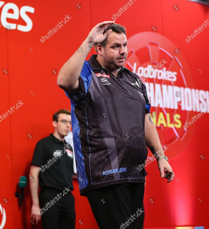 Adrian Lewis during the 2018 Players Championship Finals at Butlins Minehead, Minehead
