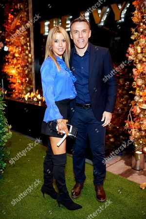 Stock Photo of Julie Neville and Phil Neville