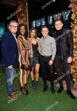Editorial photo of The Ivy Spinningfields, VIP Launch Party, Manchester, UK - 23 Nov 2018