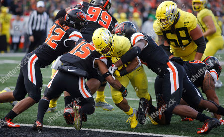 Editorial picture of Oregon Oregon St Football, Corvallis, USA - 23 Nov 2018