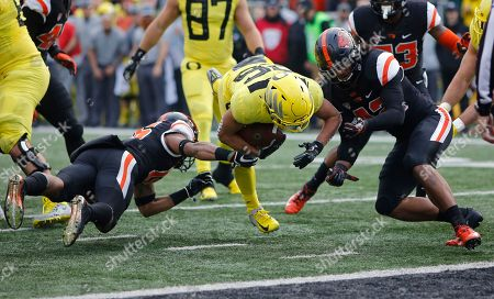 Editorial photo of Oregon Oregon St Football, Corvallis, USA - 23 Nov 2018