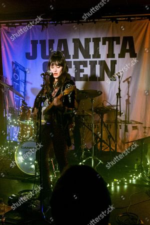 Editorial picture of Juanita Stein in concert at The Courtyard Theatre in Shoreditch, London, UK - 23 Nov 2018