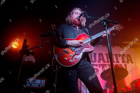 Editorial photo of John J Presley in concert at The Courtyard Theatre, Shoreditch, London, UK - 23 Nov 2018