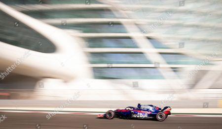 Editorial image of Formula One Grand Prix of Abu Dhabi, United Arab Emirates - 24 Nov 2018