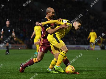 Editorial picture of Bradford City v Oxford United, EFL Sky Bet League One, Football, Valley Parade, Bradford, UK - 24 Nov 2018