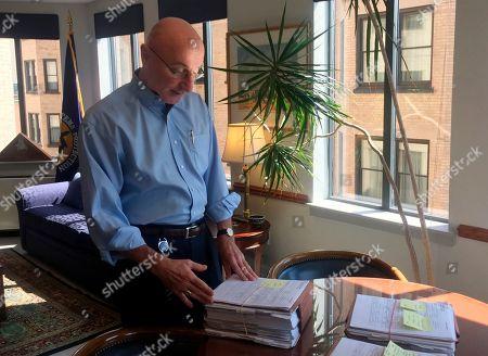 Editorial picture of Lone Bureaucrat, Washington, USA - 07 Aug 2018