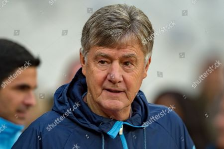 Brian Kidd co-assistant coach of Manchester City before the Premier League match between West Ham United and Manchester City at the London Stadium, London