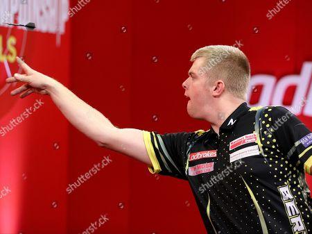 Steve Burton during the 2018 Players Championship Finals at Butlins Minehead, Minehead